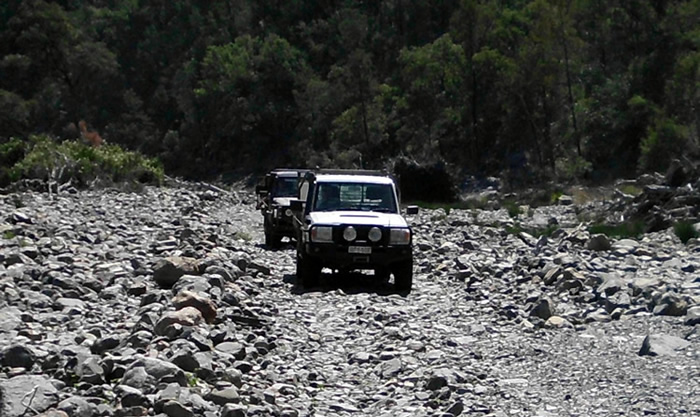 4wd tracks on the property can range from easy to challenging and everything in between